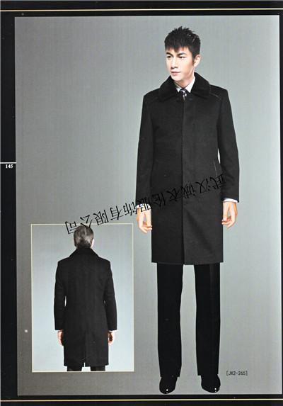 职业装定做男士大衣