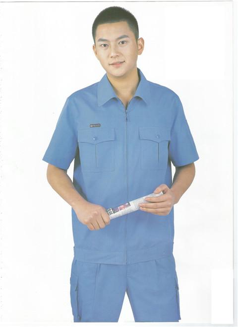 武汉工作服-夏装短袖21