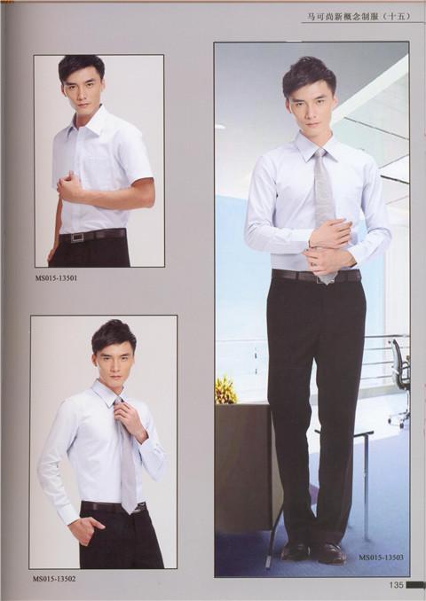<b>武汉职业装-男式衬衣3</b>